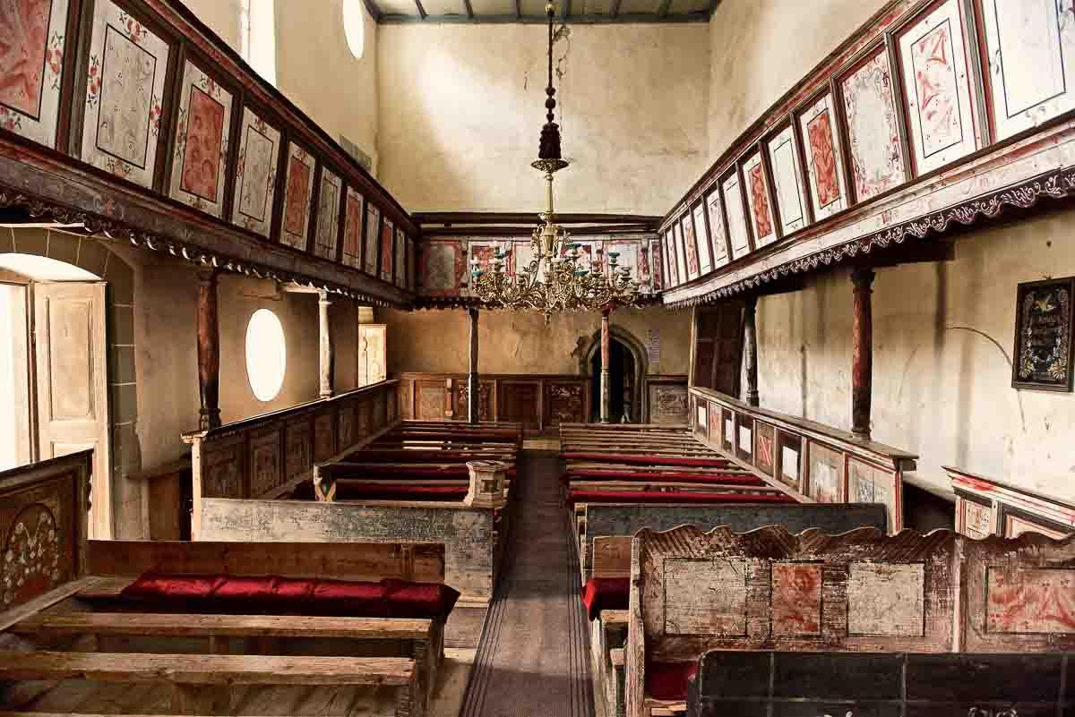 Church in Biserica, Viscri