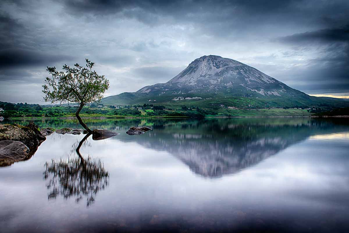Errigal reflected