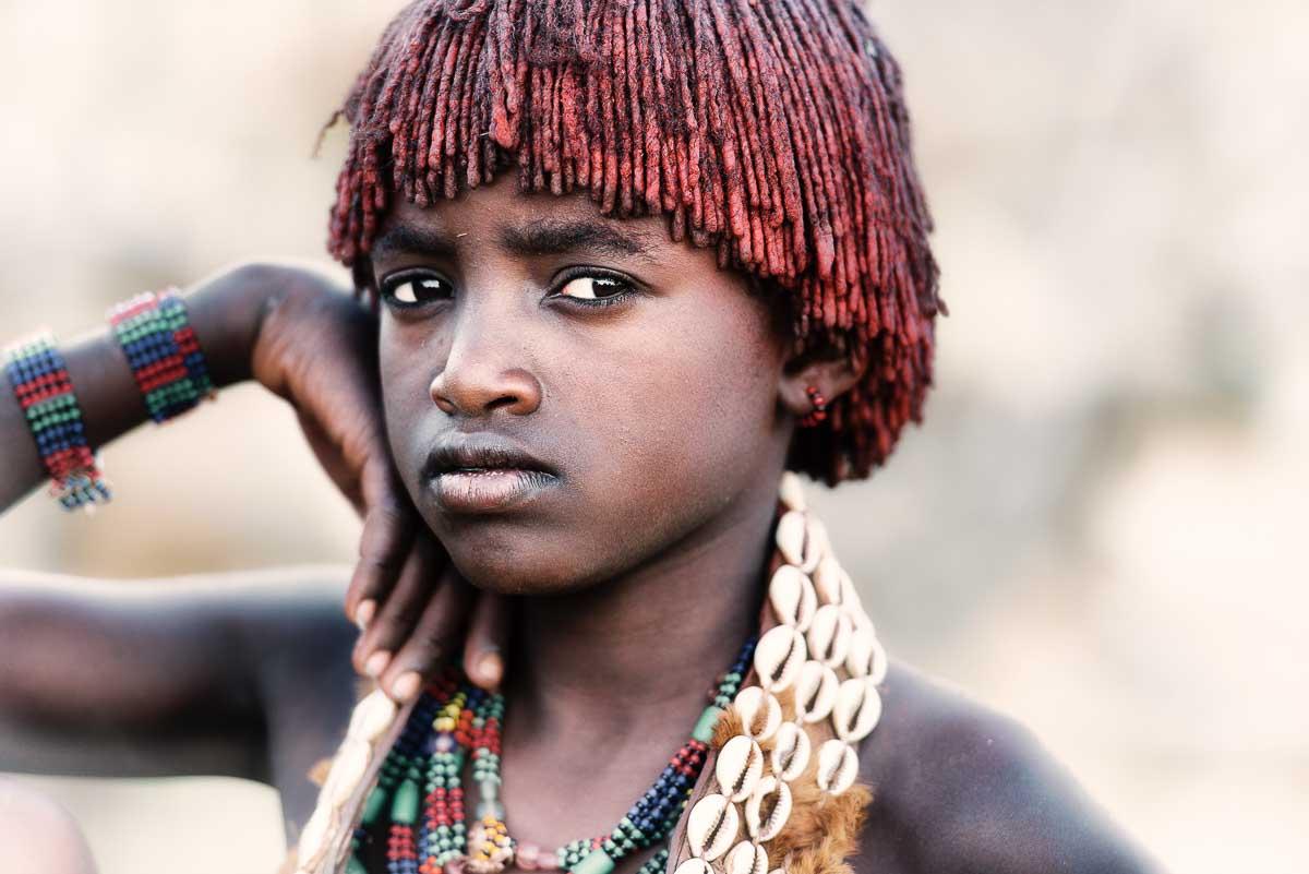 Hamar girl beauty