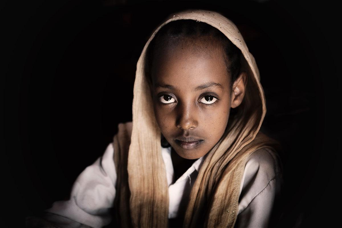 Jinka school girl