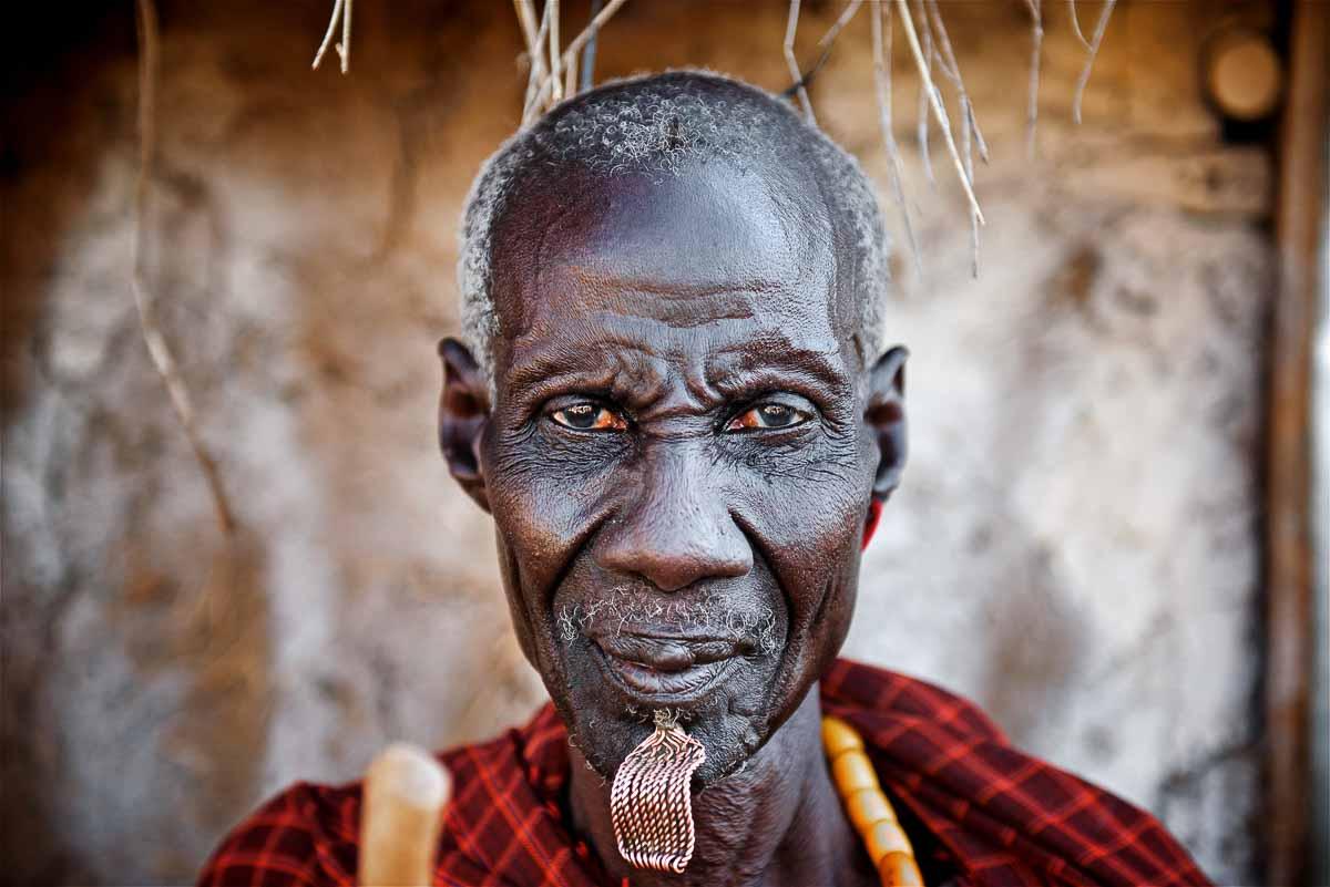 Nyangatom elder