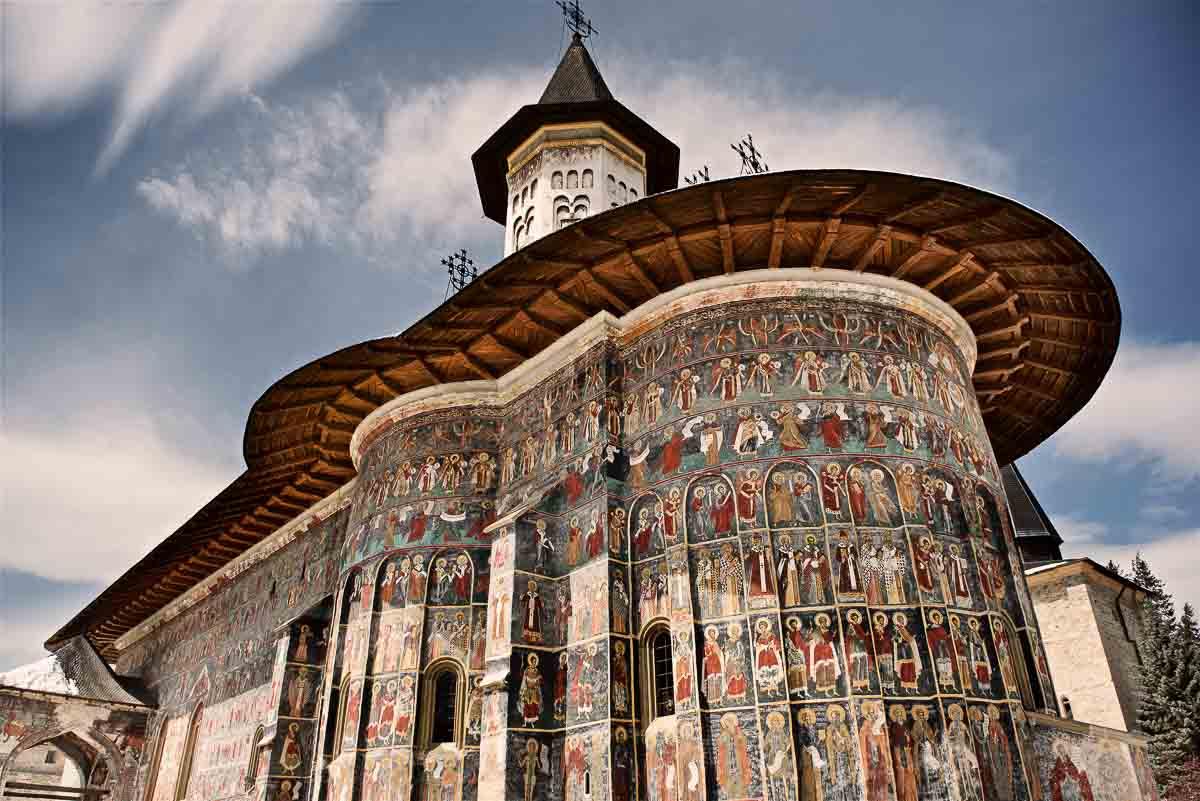 Sucevita Orthodox church