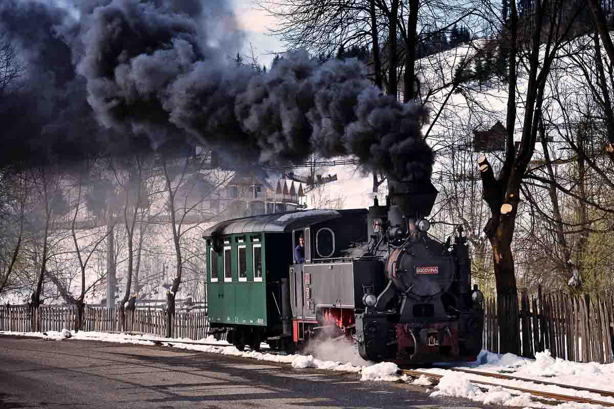 The little steam train